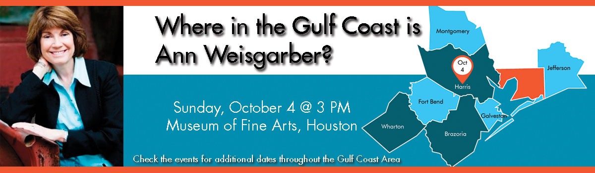 Where in the Gulf Coast is Ann Weisgarber